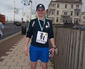 This is me running before my diagnosis in 2012.