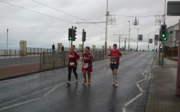 Was lovely to run with Sara and Jodie for a while and hear about their wonderful cause.