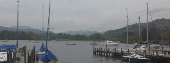 Added motivation provided by the gorgeous scenery around Lake Windermere