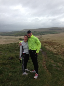 It's been great to go running with Louise lately. Perhaps she might run a marathon with me? ;)