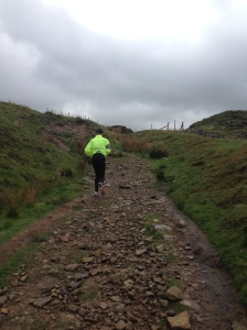 Been feeling great lately and running up big hills like this one at White Coppice.