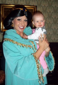 With Princess Jasmine