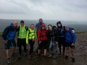 A very wet, but awesome day running the Yorkshire Three Peaks. It was very tough, but I loved every minute!